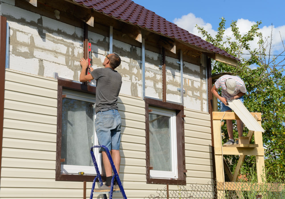 Exterior Cladding Repair and Replacement Service 17
